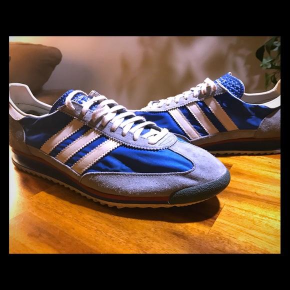code promo a7717 13413 Adidas SL 72 Sneaker Blue/Legacy/Slate Size 12